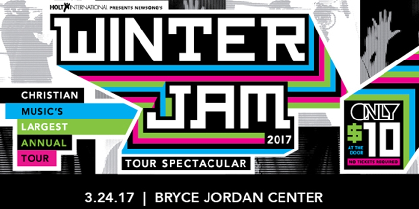 Winter Jam Tour Spectacular at the BJC