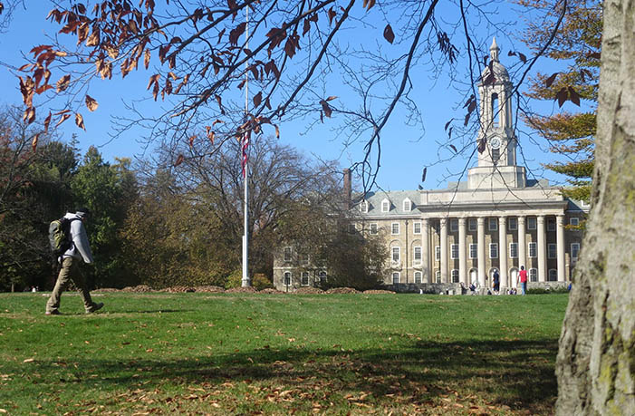 Old Main on Penn State University Park Campus