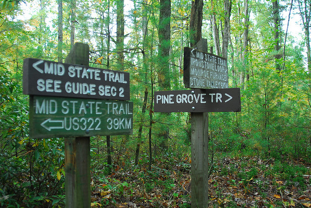 Mid-State Trail, Centre County